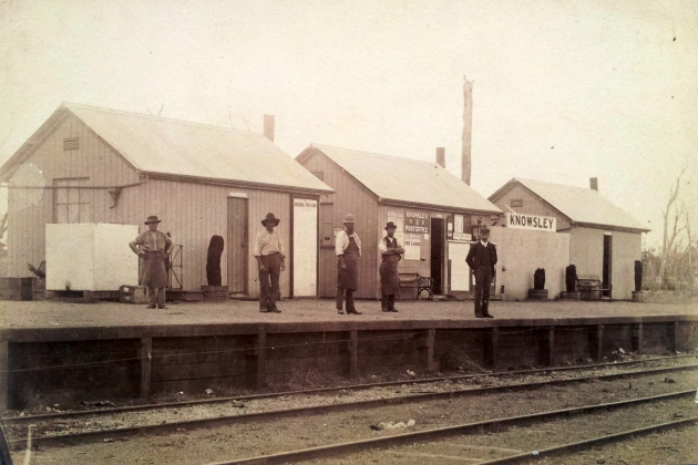 The Knowsley Railway Station