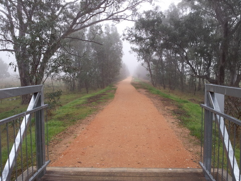 Upgraded trail  - Peppercorn Park to Sweenies Crk bridge, Longlea