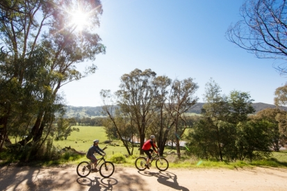 Regional Victoria rail trail cycle tourism