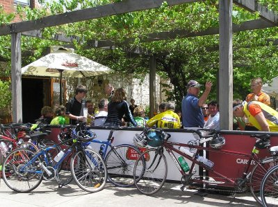Cycle tourism business