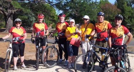 Heathcote Community Games relay - riders to walkers