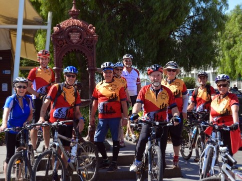 Wilkinson Fountain Williamstown, Hobsons Bay Coastal Trail ride