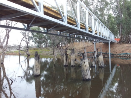 An O'Keefe Rail Trail bridge. Photo: Garry Long