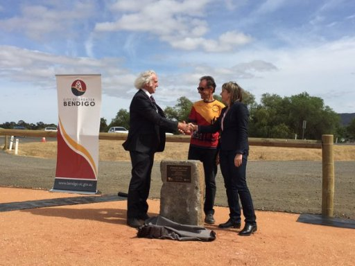 O'Keefe Rail Trail Offical Opening 21 Dec 2015. Photo: Les Lewis