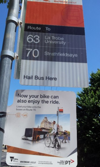 PTV Bus Your Bike Trail 2016 - Route 70 (Strathfieldsaye-Bendigo)