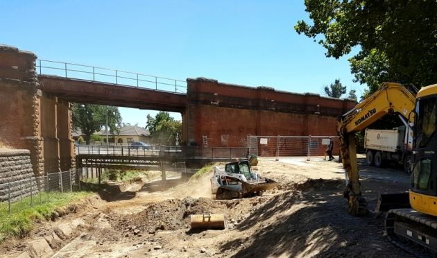 Spring Gully Trail extension 2018