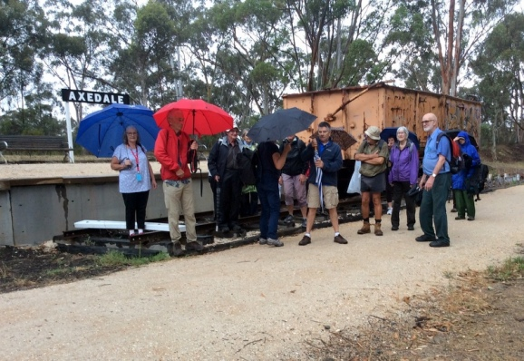 Bendigo U3A Walking Group. O'Keefe Rail Trail Axedale. 15 Dec 2018